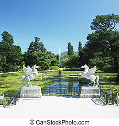 Triton's Lake, Powerscourt Gardens, County Wicklow, Ireland