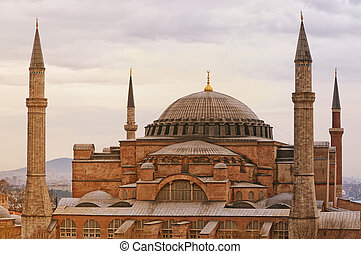 Hagia Sophia - An image of the impressive hagia sophia...