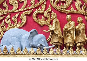 Thai Temple Detail 01