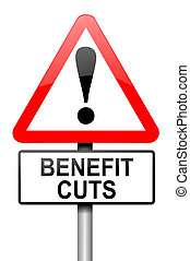 Benefits and welfare concept. - Illustration depicting a...