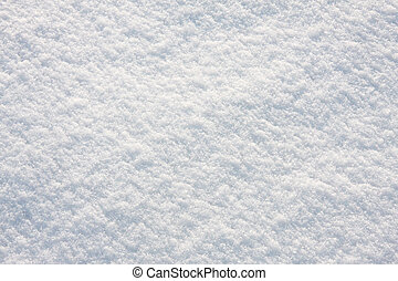 Snow texture - Snow, background of fresh, untouched snow.