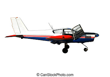 Small airplane - The small passenger plane for small...