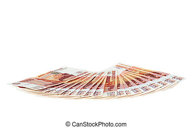 Money for Business - Money on white background