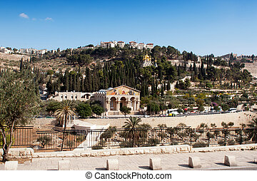 The Mount of Olives - holy places of Jerusalem