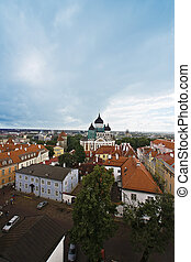 The ancient city of Tallinn - View from one of ancient...