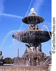 Fountain, Place de la Concorde.