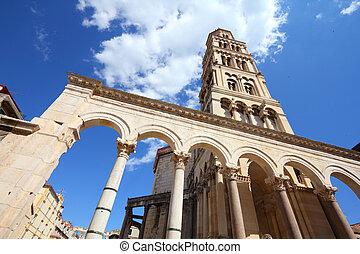 Split, Croatia - Croatia - Split in Dalmatia. Diocletian's...