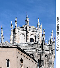 Dome with pilasters - Architectural Detail of the Cathedral...