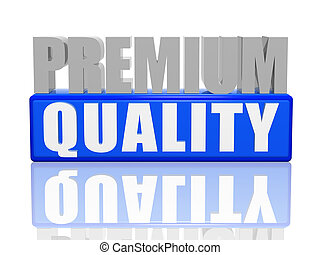 premium quality - Premium quality 3d letters with blue box