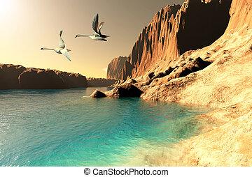 Quasimodo, Vista marina