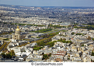 paris, france invalides - the invalides in paris, france...