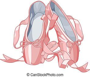 ballet, pantoufles