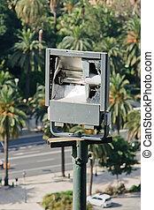 lamppost - broken lamppost
