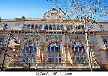 Barcelona Gran Teatro del Liceo Liceu ramblas - Barcelona...