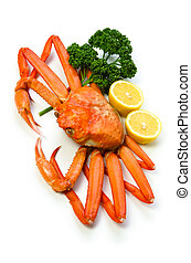 red snow crab - Cooking ingredient series red snow crab. for...