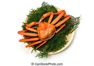 red snow crab - Cooking ingredient series red snow crab....