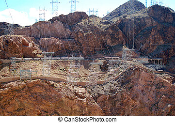 Hoover Dam on Lake Mead Las Vegas