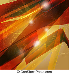 Abstract 3d technology lines with light vector backgound Eps...