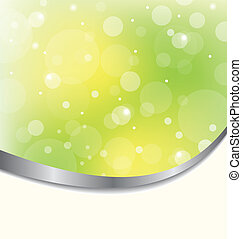 Abstract eco background light green