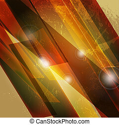 Abstract 3d technology lines with light vector backgound.