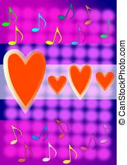 serca, Barwny, czerwony, notatki