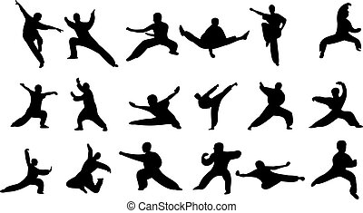 Martial art. Strong people. Professional athletes....
