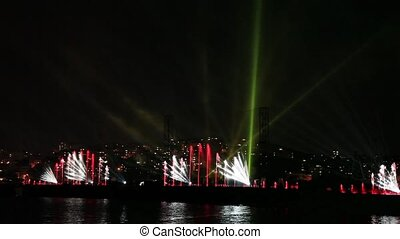 water, light and laser show 4