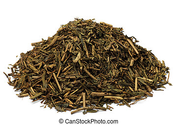 roasted green tea - This is called roasted tea in a Japanese...