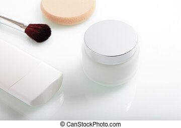 close up of beauty hygiene container
