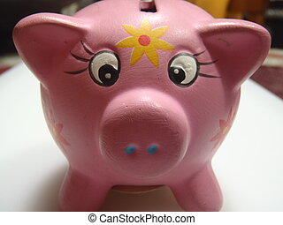 錢, 保留, 豬