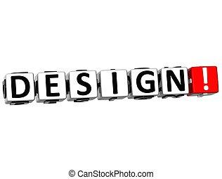 3D Design Crossword