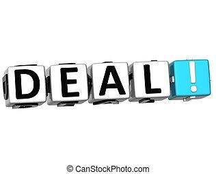 3D Deal Crossword