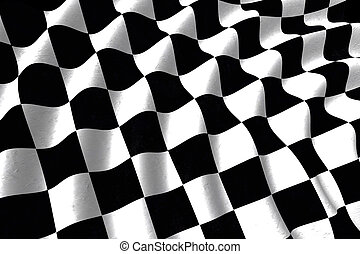 Checkered flag texture background