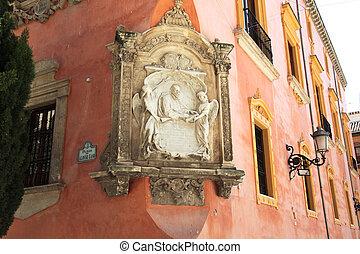 Facade Plaza de Alonso Cano Granada - a facade of the Plaza...