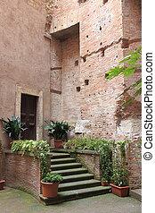 Medieval corner in Rome