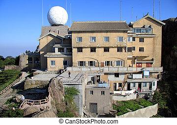 Meteorology station - Building of meteorology station ion...