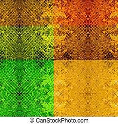 color background from tile mosaic