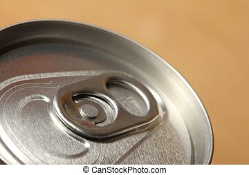 top of a drinking can