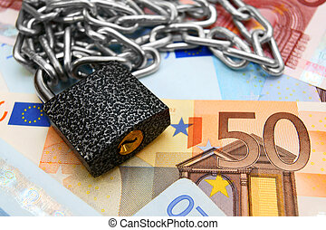 Chain, the lock and money