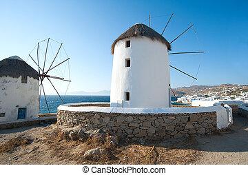 Mykonos - Windmills of mykonos