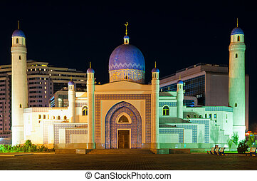 Mosque in Atyrau - Mosque in center of Atyrau in Kazakhstan...