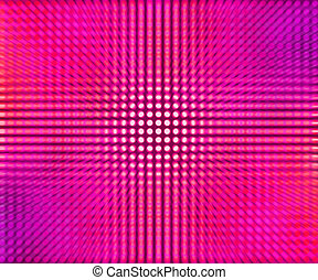 Violet LED Dots Abstract Background