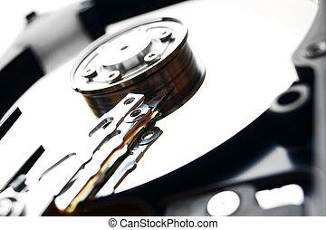 Hard drive. - Hard drive . . .