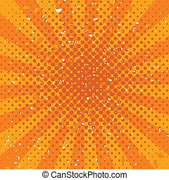 vector orange grunge background