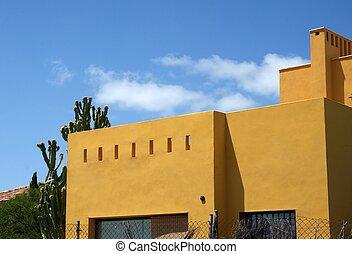 Mediterranean architecture, house