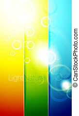 Colorful shiny backgrounds
