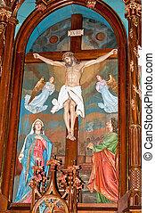 altar, basílica