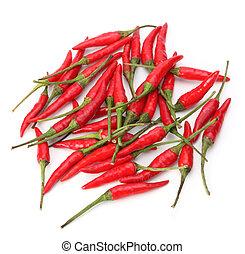 vermelho, pimentão, pimenta