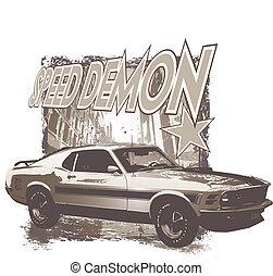speeddemon grunge