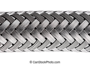 abstract water hose - abstract metal water hose, high detail...
